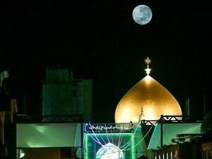 تصویری ویژه از ماه کامل نیمه ماه رمضان - کراپشده