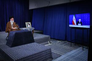عکس/ ارتباط تصویری ستاد ملی مبارزه با کرونا با رهبر انقلاب