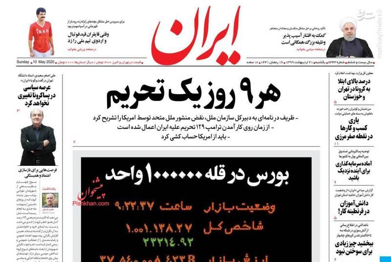 ایران: هر ۹ روز یک تحریم