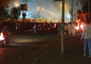 تداوم اعتراضات خیابانی در چندین شهر عراق +عکس