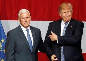 ترامپ و پنس