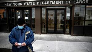 کرونا ۴۰ میلیون آمریکایی را بیکار کرده است/طبقه حاکم آمریکا عامدانه کمکهای مالی را از طبقه کارگر دریغ میکنند
