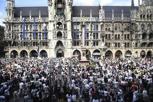 تظاهرات معترضان به قرنطینه در برلین