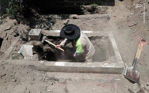دفن قربانیان کرونا در مکزیک