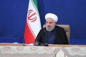 فیلم/ روحانی: نگران تامین کالاهای اساسی نباشید