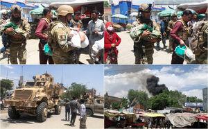 عکس/ حمله مرگبار به بیمارستان کابل