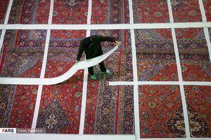 عکس/ آماده سازی مسجد ارک برای شبهای قدر