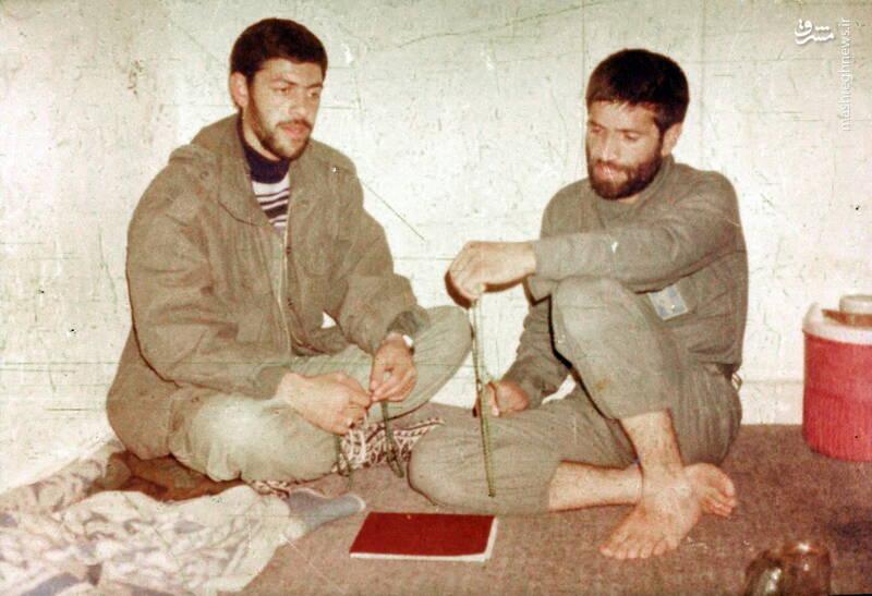 شهید محمدناصر اشتری و شهید میرزا علی رستمخانی