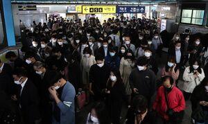ازدحام جمعیت در مترو