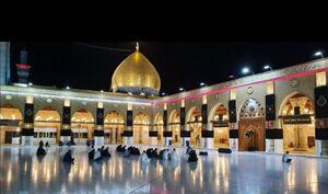 شب اول قدر مظلومانه در مسجد کوفه +عکس