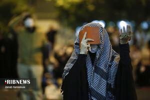 احیای شب نوزدهم در میدان فلسطین