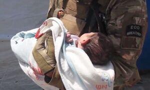 فیلم/ لحظاتی پس از حمله به یک زایشگاه در کابل