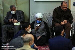 رئیس سازمان تبلیغات در مسجد ارک