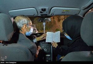 احیای شب نوزدهم رمضان در خودرو