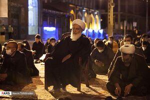 عکس/ برگزاری مراسم احیا در مسجد جامع کرمانشاه