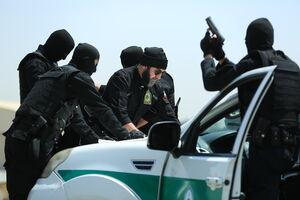 علی انصاریان برای یک عملیات به پلیس پیوست