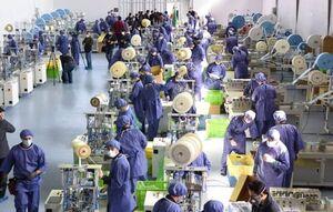 تولید روزانه ۴ میلیون ماسک در بزرگترین کارخانه ماسک کشور