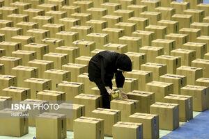 عکس/ آمادهسازی بستههای معیشتی توسط کمیته امداد