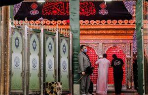 تصویری زیبا از ضریح حضرت علی(ع)