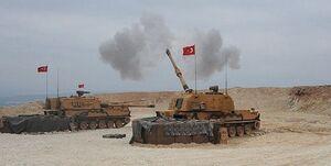 حمله توپخانهای ترکیه به روستاهایی در شمال سوریه و عراق