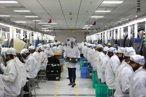 بازگشایی کارخانه تولید تلفن همراه
