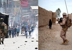 موج جدید حملات نظامیان هندی به مردم معترض کشمیر