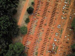 عکس/ کرونا همچنان در برزیل شتابان و مهلک پیش می رود - کراپشده
