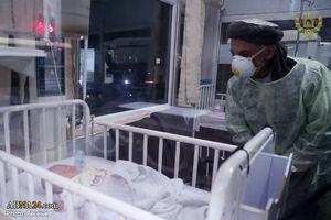 اشرف غنی در بازدید از زایشگاه دشت برچی