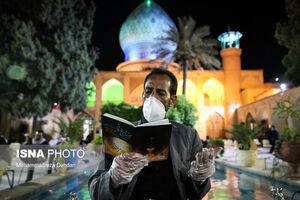 عکس/ احیای شب قدر مردم شیراز
