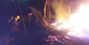 ۴۰ مصدوم در آتش سوزی مجتمع ۲۰۰ واحدی