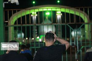 عکس/ حضور شبزندهداران در اطراف مسجد جمکران