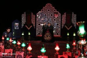 عکس/ مراسم احیا شب قدر در حسینیه آیتالله حقشناس