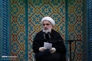 عکس/ لیله قدر در یادمان شهدای هفتاد و دو تن