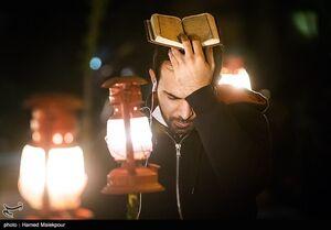 عکس/ حال هوای شب قدر در ایران اسلامی