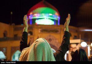 فیلم/ دستهای رو به آسمان مردم ایران