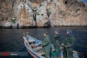 عکس/ زنان ماهیگیر