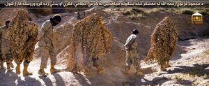 آموزش نیروهای طالبان برای مقابله با داعش +تصاویر