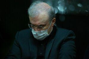 فیلم/ توضیحات وزیر بهداشت درباره بازگشایی حرم رضوی