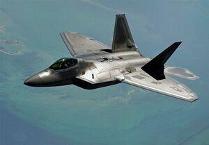 سقوط یک فروند جنگنده اف-۲۲ نیروی هوایی آمریکا در فلوریدا
