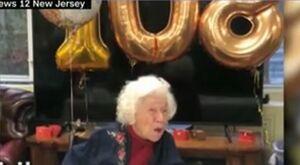 فیلم/ نجات پیرزن 108 ساله از کرونا