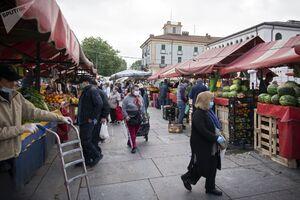 تصاویر جدید از ایتالیا زیرسایه کرونا