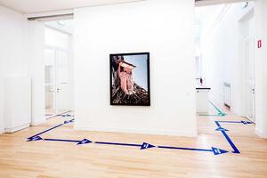 عکس/ فاصلهگذاری اجتماعی در یک موزه