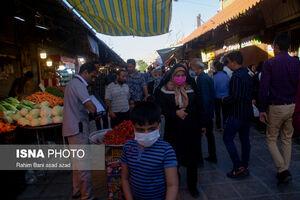 عکس/ کرمان در شیب صعودی کرونا