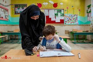 عکس/ مدارس مشهد در اولین روز بازگشایی