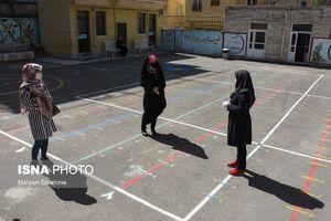 بازگشت دانش آموزان تبریز به مدارس