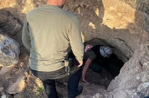 حشد الشعبی یک شبکه تونلهای داعش را در شمال عراق منهدم کرد