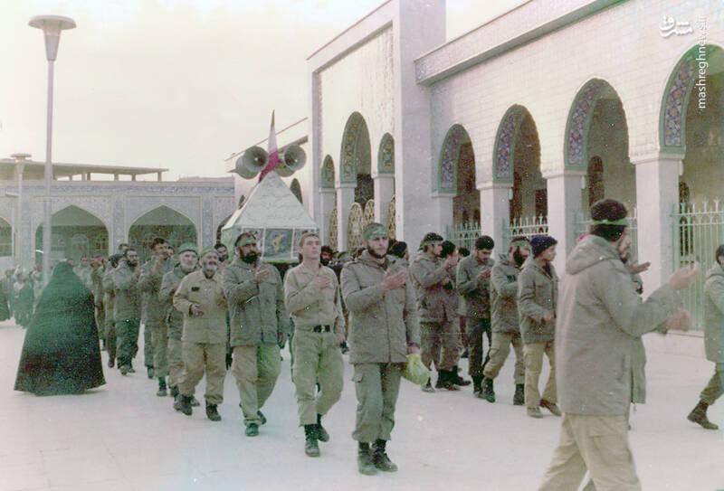 شهید علی اکبر سید جوادی در زینبیه(دمشق)