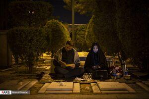 عکس/ شب قدر در بهشت زهرا