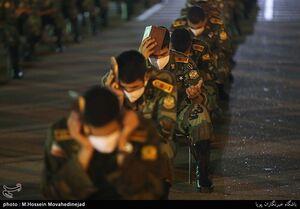 عکس/ احیای شب بیست سوم دردانشگاه افسری امام علی(ع)