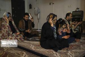 عکس/ احیا شب قدر در خانههای اهواز